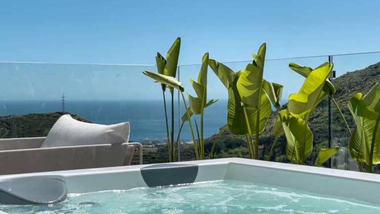 Jacuzzi da terrazza: perfetta per socializzare nel 2021