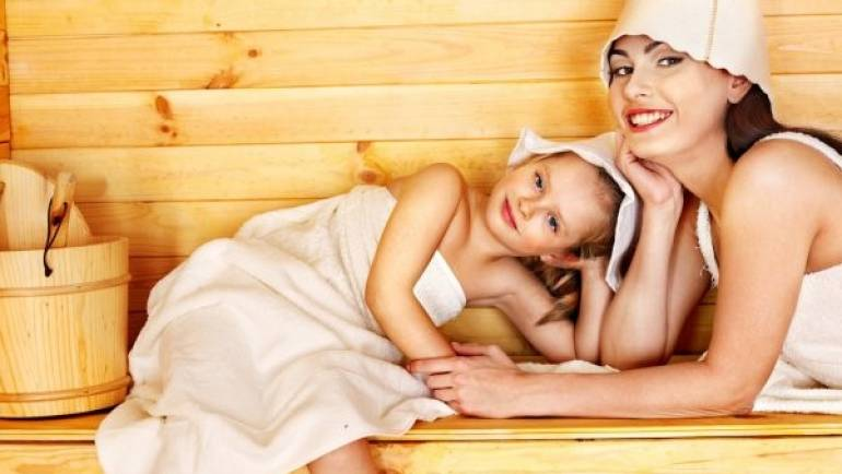 Saune di legno: possono essere usate dai più piccoli della casa?